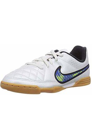 Nike Boys' Jr. Tiempo Rio II Ic Football Boots, -Weiß ( /Volt-Soar- )