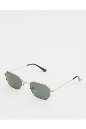 Jeepers Peepers Hexagonal sunglasses in