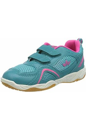 LICO Girls' Enjoy V Multisport Indoor Shoes, Turquoise (Türkis/ Türkis/ )