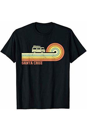 Santa Cruz Retro Vintage Surf Wear 70s 80s Surfing California CA Santa Cruz T-Shirt