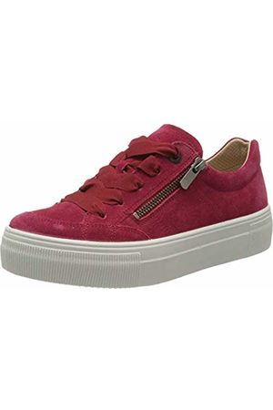 Legero Women's Lima Low-Top Sneakers, (Strawberry (Rot) 48)