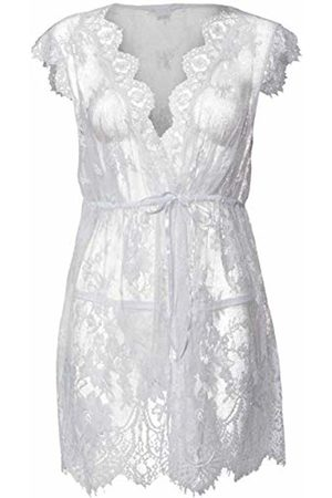 Dreamgirl Women's lace tie-Front Babydoll Baby Doll