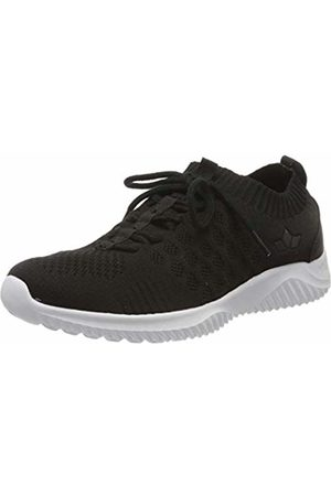 LICO Unisex Adults' Elastic Nordic Walking Shoes, (Schwarz Schwarz)