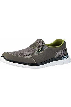 Rieker Men's B4870 Loafers, (Polvere/Dust/Weiss)