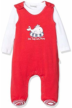 Salt & Pepper Baby Girls' Mit Walmotiv Glitzerdruck Footies