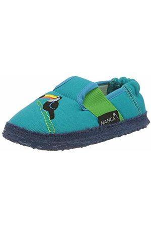 Nanga Unisex Kids' Tucan Open Back Slippers, Turquoise (Türkis 33)