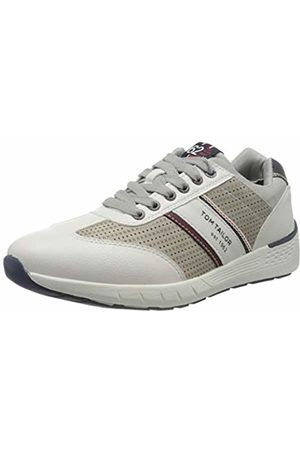TOM TAILOR Men's 8082402 Trainers, (offwhite 00138)