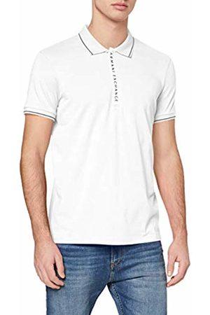 Armani Men's Hidden Buttons, Stretch Cotton Polo Shirt