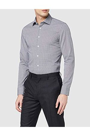 Seidensticker Men's Herren Business Hemd Shaped Fit - Bügelfreies Formal Shirt