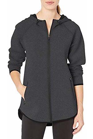 Amazon Longer Length Bonded Tech Fleece Full-zip Hooded Jacket Charcoal Heather