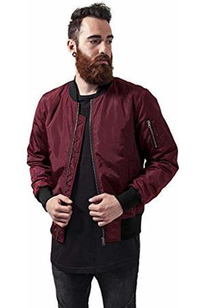 Urban classics Men Bomber Jackets - Men's 2-Tone Bomber Jacket