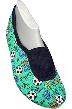 Beck Unisex Kids' Goal, RIST Gymnastics Shoes, (Grün 22)