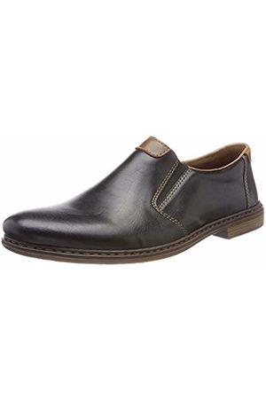 Rieker Men's 13468 Loafers, (Schwarz/Mogano)