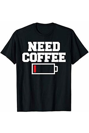 Miftees Need Coffee funny Coffee Lover T-Shirt