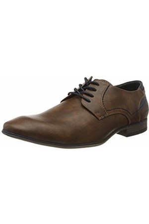Tom Tailor Men's 8080103 Oxfords, (Cognac 00205)