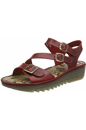 Fly London Women's ELIT141FLY Open Toe Sandals, ( 003)