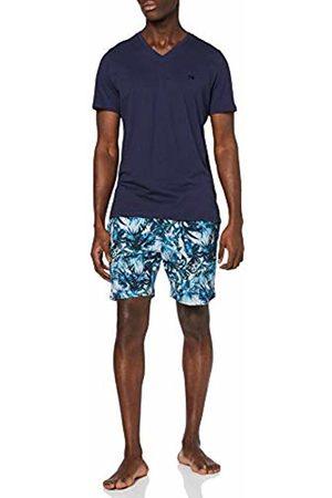 Hom Men's Safari Short Sleepwear Pajama Set