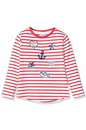 Salt & Pepper Salt and Pepper Girls' Maritime Applikationen mit Stickerei und Pailletten Longsleeve T-Shirt, (Lollipop 344)