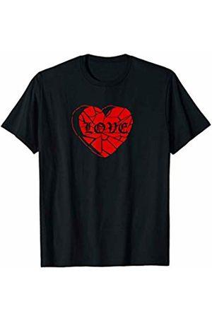 Heartbreak Aesthetic Grunge Broken Heart Love Heartbroken T-Shirt