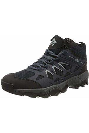 LICO Unisex Adults' Sierra High Rise Hiking Shoes, (Marine/Grau Marine/Grau)