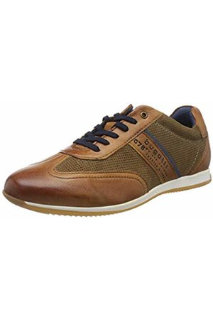Bugatti Men's 311450104114 Low-Top Sneakers, (Cognac/Sand 6353)