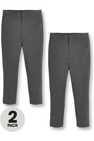 Very Boys 2 Pack Skinny Fit Trousers