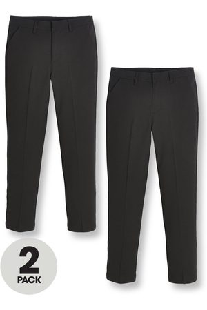 V by Very Boys 2Pk Skinny Fit Trousers