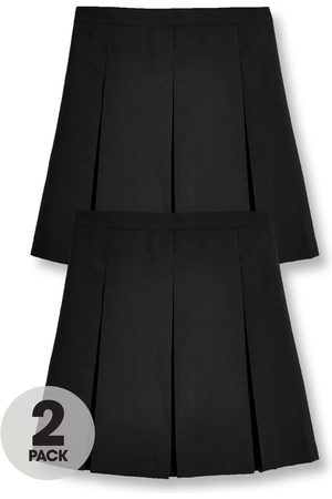 Very Girls 2 Pack Classic Pleated School Skirts Plus