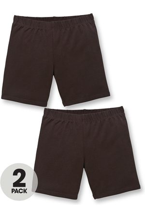 Very Girls Trousers & Shorts - Girls 2 Pack School Cycling Shorts