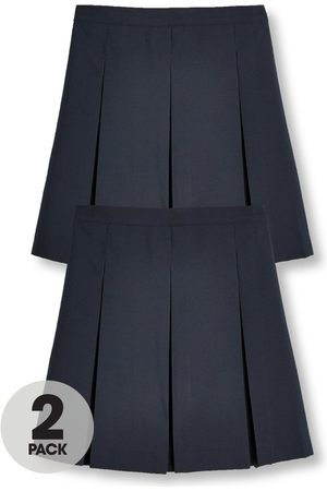 Very Girls 2 Pack Classic Pleated School Skirts