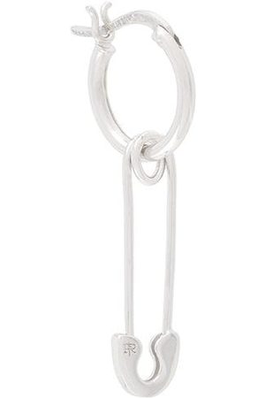 TRUE ROCKS Safety pin hoop earring