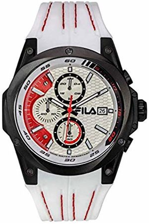 Fila Unisex Adult Analogue Quartz Watch with Silicone Strap 38-823-001