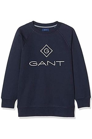 GANT Boy's Lock Up Sweat C-Neck Sweatshirt