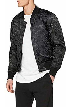 Urban Classic Men's Tonal Camo Bomber Jacket ( 7)