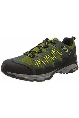 Bruetting Unisex Adults' Expedition Low Rise Hiking Shoes, (Grün/Schwarz Grün/Schwarz)