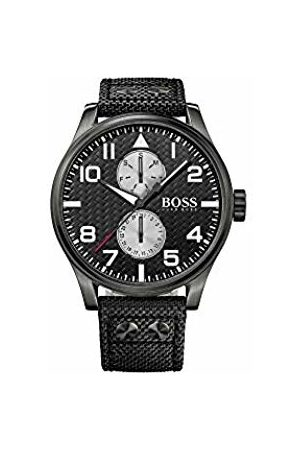 Boss Men's Quartz Watch Analogue Display and Nylon Strap 1513086