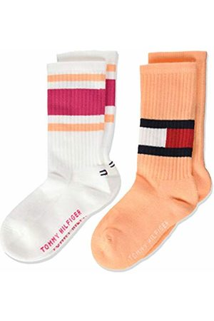 Tommy Hilfiger Girl's Th Kids Flag 2p Calf Socks