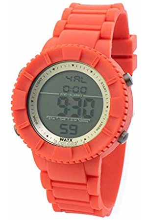Watx Digital Quartz Watch with Rubber Strap RWA1710-C1772