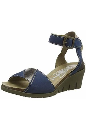 Fly London Women's IMAT455FLY Ankle Strap Sandals, ( /Bronze 006)