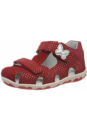 Superfit Baby Girls' Fanni Sandals, (Rot 50)