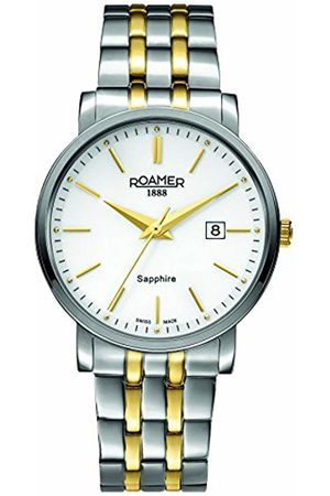 Roamer Men's Quartz Watch with Dial Analogue Display and Stainless Steel Bracelet 709856 47 25 70