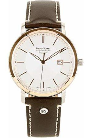 Soehnle Bruno Söhnle Men's Watch Analogue Quartz Leather Legato 17 - 63138 Pump