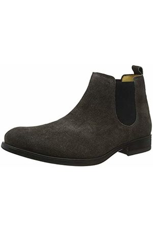 Fly London Men's MEZO559FLY Chelsea Boots, (Anthracite 002)