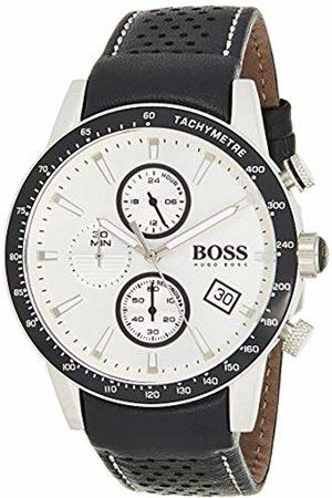 HUGO BOSS Men's Chronograph Quartz Watch with Leather Strap - 1513403