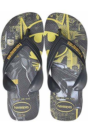 Havaianas Unisex Kid's Max Herois Flip Flops, (New Graphite/New Graphite 7538)
