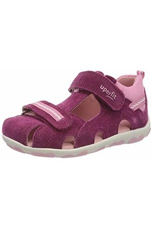 Superfit Baby Girls' Fanni Sandals, (Rot/ROSA 50)