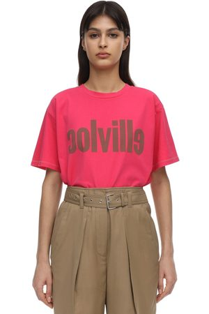 Colville Logo Print Cotton Jersey T-shirt