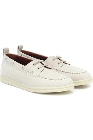 Loro Piana Sea Walk suede loafers