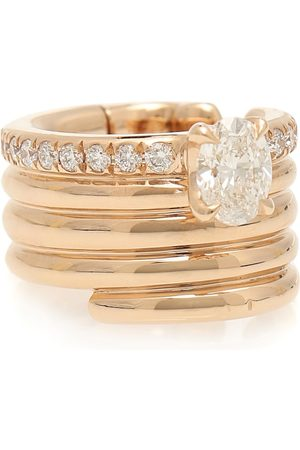 Repossi Blast 18kt rose- ear cuff with diamonds