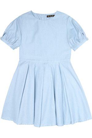Loro Piana Janette cotton chambray dress